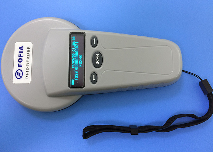 Pet Management Animal Microchip Scanner , CE Universal Microchip Reader