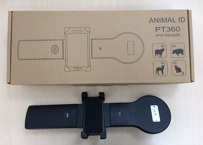 Intelligent RFID Ear Tag Reader For Livestock Identification , One Year Guarantee